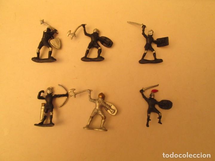LOTE FIGURAS MEDIEVALES (Juguetes - Figuras de Goma y Pvc - Otras)