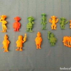 Figuras de Goma y PVC: LUCKY LUCKE LOTE DIFICILES. Lote 147634066