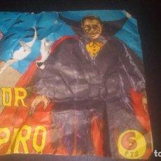 Figuras de Goma y PVC: SOBRE TIPO MONTAPLEX DRACULA VAMPIROS TERROR. Lote 195508831
