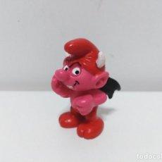 Figuras de Goma y PVC: FIGURA DE PITUFO DEMONIO (DIABLO) DE SCHLEICH. Lote 147759726