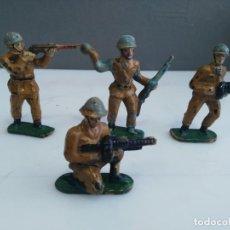 Figuras de Goma y PVC: LOTE DE FIGURAS DE MAIRZA MILITARES SOLDADOS . Lote 147882582