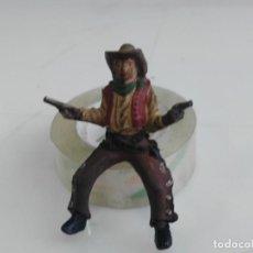 Figuras de Goma y PVC: ANTIGUA FIGURA DE REAMSA VAQUERO EN GOMA. Lote 147885910