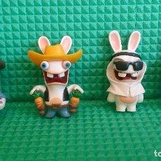 Figuras de Goma y PVC: LOTE FIGURAS RABBIDS UBISOFT. Lote 147893806