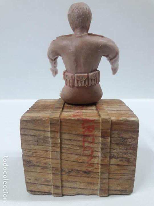 Figuras de Goma y PVC: CONDUCTOR DE JEEP . POSIBLEMENTE REALIZADO POR ARCLA ?? DETALLE EN EL LIBRO DE JUAN HERMIDA - Foto 6 - 148054178