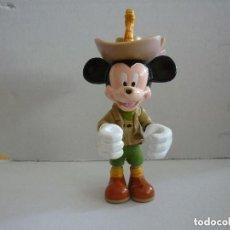 Figuras de Goma y PVC: FIGURA ARTICULADA DE MICKEY EXPLORADOR -DISNEY - 10 CM. Lote 148082386