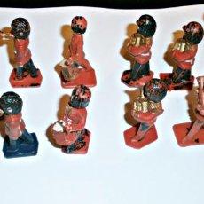 Figuras de Goma y PVC: BANDA SOLDADOS LONE STAR HARVEY. Lote 148105810