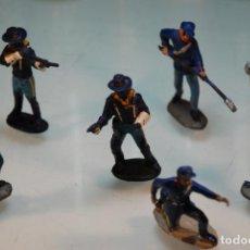 Figuras de Goma y PVC: LOTE DE 6 SOLDADOS FEDERALES AMERICANOS - PECH, REAMSA, COMANSI - . Lote 148154778
