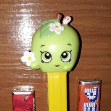 Dispensador Pez: DISPENSADOR CARAMELOS PE Z SHOPKINS APPLE BLOSSOM. Lote 148216398