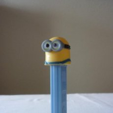 Dispensador Pez: DISPENSADOR CARAMELOS PEZ MINIONS. Lote 148271686