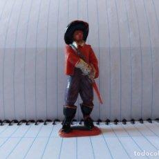 Figuras de Goma y PVC: MOSQUETEROS DE JECSAN MOSQUETERO PVC. Lote 148278294