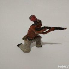 Figuras de Borracha e PVC: FIGURA INDIO PLÁSTICO. Lote 148280082