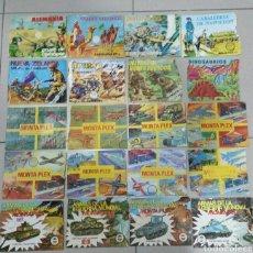 Figuras de Goma y PVC: 20 SOBRES MONTAPLEX VACIOS. Lote 148300057