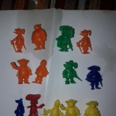 Figuras de Goma y PVC: FIGURITAS DUNKIN. Lote 148338528