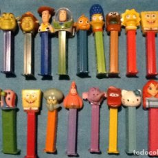 Dispensador Pez: GRAN LOTE DE COLECCION DE DISPENSADORES PEZ. Lote 148380298