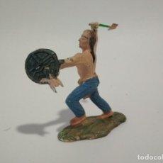 Figuras de Goma y PVC: FIGURA INDIO LITTLE BIG HORN REAMSA. Lote 148465846