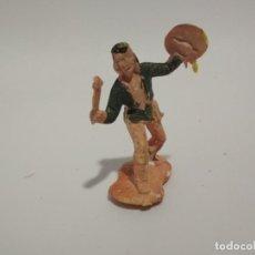 Figuras de Goma y PVC: FIGURA APACHE GOMARSA REAMSA. Lote 148467354