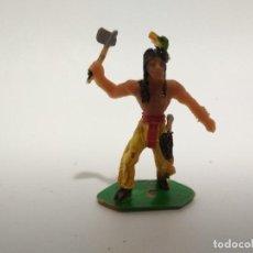 Figuras de Goma y PVC: FIGURA INDIO COMANSI . Lote 148474678