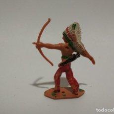 Figuras de Goma y PVC: FIGURA INDIO COMANSI . Lote 148474738