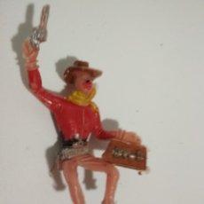 Figuras de Goma y PVC: FIGURA VAQUERO COMANSI. Lote 148474934