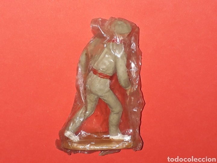Figuras de Goma y PVC: Mozo Monosabio, serie Toros Tauromaquia, goma, Teixidó, original años 50-60. - Foto 2 - 224794711