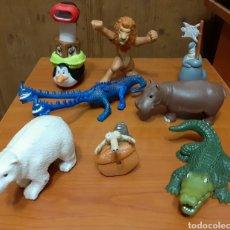 Figuras de Goma y PVC: 8 FIGURAS DE PVC (JUGUETE). Lote 148592301