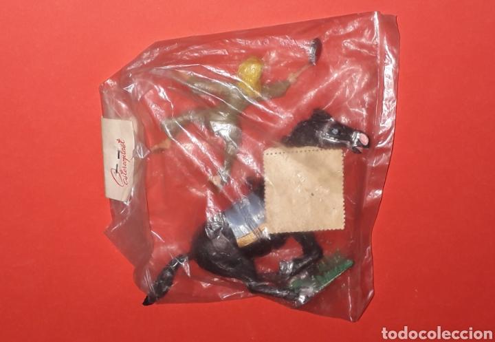 Gummi- und PVC-Figuren: Sigrid a caballo, serie El Capitán Trueno, plástico, Estereoplast Barcelona, original años 60. - Foto 2 - 148596230