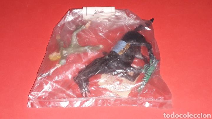 Gummi- und PVC-Figuren: Sigrid a caballo, serie El Capitán Trueno, plástico, Estereoplast Barcelona, original años 60. - Foto 3 - 148596230