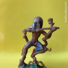 Figuras de Goma y PVC: FIGURA INDIO LAFREDO. Lote 148638770