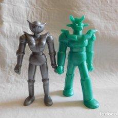 Figuras de Goma y PVC: M69 MUÑECO EN PLASTICO MONOCROMO DE MAZINGER Z Y AFRODITA. Lote 35686077