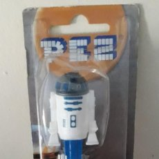 Dispensador Pez: DISPENSADOR CARAMELOS PEZ R2D2 STAR WARS. Lote 148750790