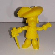 Figuras de Goma y PVC: DUNKIN PHOSKITOS : ANTIGUA FIGURA DE DARTACAN Y LOS 3 MOSQUEPERROS - DARTACAN - AÑOS 80. Lote 148752734