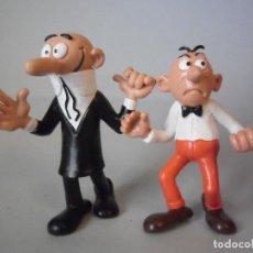 Figuras de Goma y PVC: MORTADELO Y FILEMON PRIMERAS FIGURAS DE PVC COMICS SPAIN SIN MARCAR. Lote 148788030