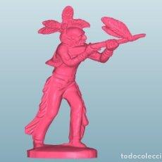 Figuras de Borracha e PVC: AMERINDIOS INDIOS VAQUEROS LAFREDO CONVERSIÓN (53). Lote 148900378
