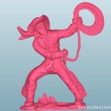 Figuras de Goma y PVC: INDIOS VAQUEROS LAFREDO CONVERSIÓN (55). Lote 148900702