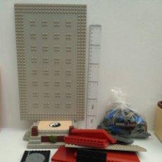 Figuras de Goma y PVC: LOTE DE PIEZAS COMBAT LAIR MEGA BLOKS TMNT TORTUGAS NINJA TIPO LEGO. Lote 148930112