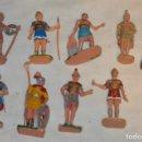 Figuras de Goma y PVC: VINTAGE - LOTE DE ROMANOS, GLADIADORES Y OTRAS FIGURAS VARIADAS - OLIVER, PUIG, PECH...- ENVÍO 24H. Lote 148957482
