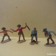 Figuras de Goma y PVC: DUELO EN OK CORRAL. HERMANOS CLANTON Y MCLAURY. Lote 149231954