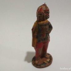 Figuras de Goma y PVC: FIGURA RARO INDIO CAPELL GOMA AÑOS 50. Lote 149234862