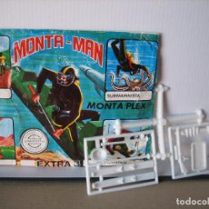 Figuras de Goma y PVC: MONTAPLEX. Lote 149239730