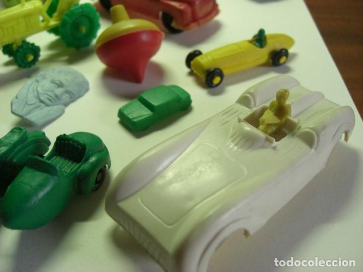 Figuras de Goma y PVC: Coches en diversos modelos, tractor, etc... Años 60 Juguetes de Kiosko. - Foto 7 - 146751334