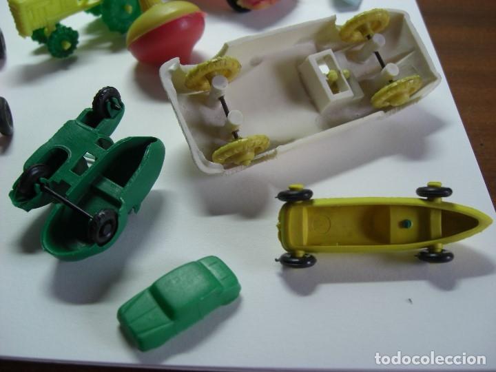 Figuras de Goma y PVC: Coches en diversos modelos, tractor, etc... Años 60 Juguetes de Kiosko. - Foto 9 - 146751334