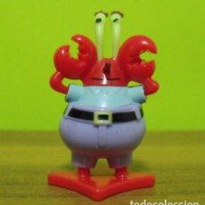 Figuras Kinder: FIGURA PVC CANGREJO EUGENE - MR. KRABS COLECCIÓN SPONGE BOB - BOB ESPONJA - KINDER. Lote 149348766