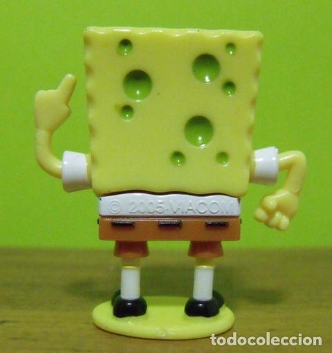 Figuras Kinder: Figura PVC Colección Sponge Bob - Bob Esponja - Kinder Sorpresa 2005 - Foto 2 - 149349562