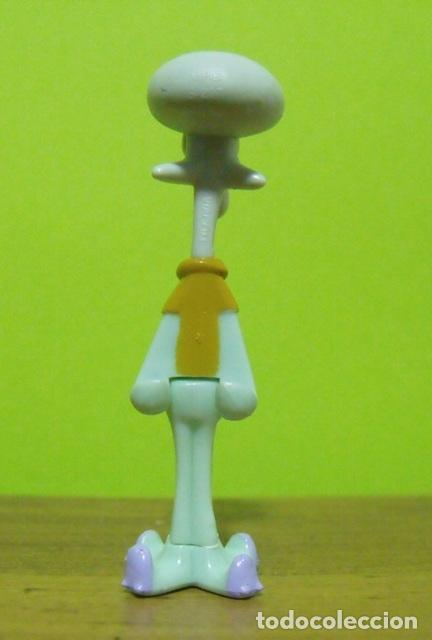 Figuras Kinder: Figura PVC Calamardo - Colección Sponge Bob - Bob Esponja - Kinder Sorpresa 2005 - Foto 2 - 149349614