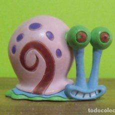 Figuras de Goma y PVC: FIGURA PVC GOMA DURA GARY EL CARACOL (BOB ESPONJA) - BULLY - BULLYLAND. Lote 149432778