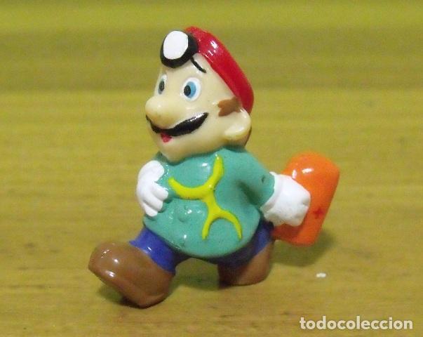 FIGURA PVC DOCTOR MARIO - SUPER MARIO BROS - NINTENDO (Juguetes - Figuras de Goma y Pvc - Otras)