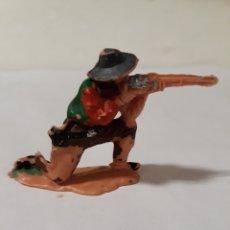 Figuras de Goma y PVC: VAQUERO DISPARANDO EN PLASTICO,JECSAN,REAMSA,COMANSI,PECH.. Lote 149486446