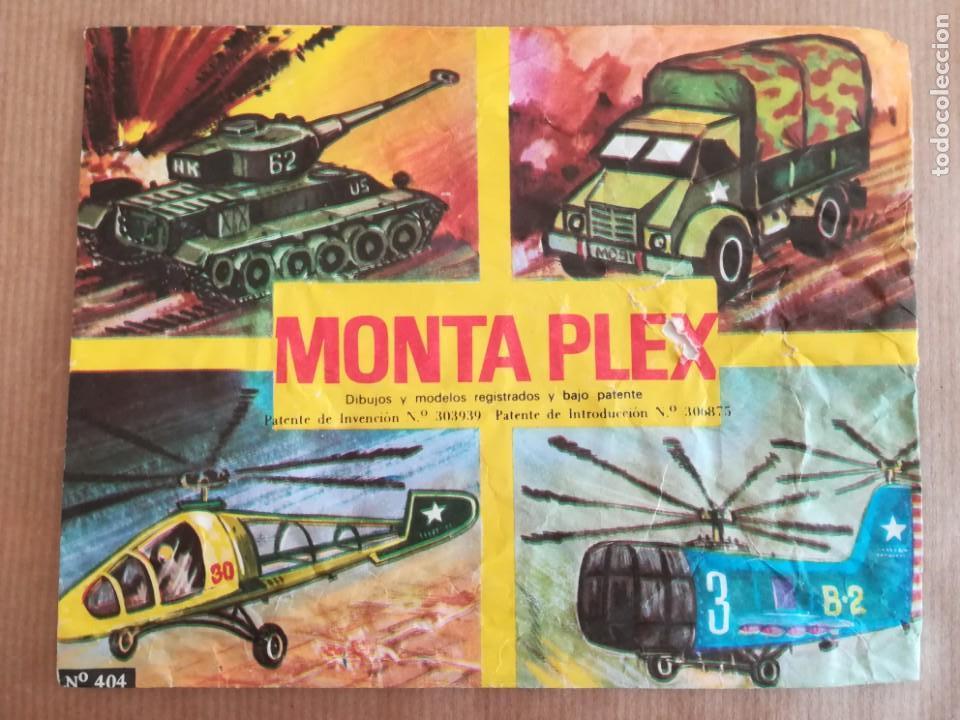 Figuras de Goma y PVC: MONTAPLEX 404 - SOBRE ABIERTO CON MATRICES SIN DESTROQUELAR - Foto 4 - 149543678
