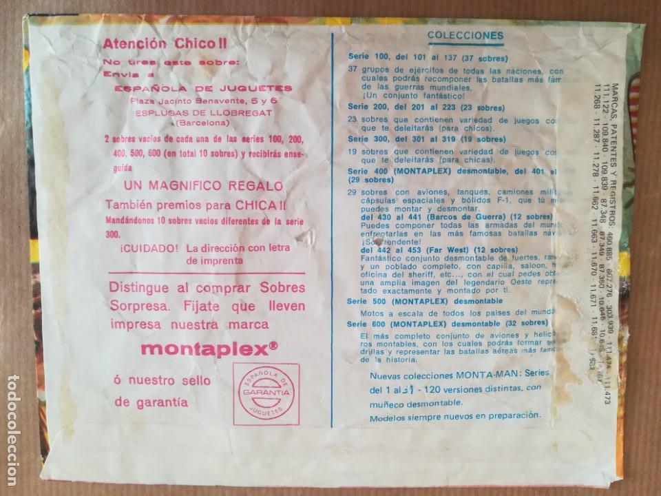 Figuras de Goma y PVC: MONTAPLEX 404 - SOBRE ABIERTO CON MATRICES SIN DESTROQUELAR - Foto 5 - 149543678
