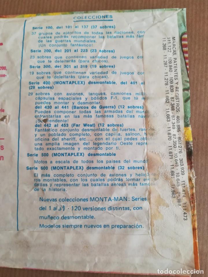Figuras de Goma y PVC: MONTAPLEX 404 - SOBRE ABIERTO CON MATRICES SIN DESTROQUELAR - Foto 7 - 149543678